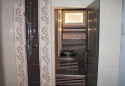 Sauna ( hetivalmis kiuas) + Pesuhuone