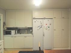 keittiössä paljon kaapistotilaa