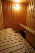 Sauna on tilava