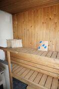 Oma sauna jossa puukiuas