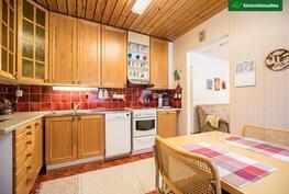 Asunto 2:n keittiössä on hyvin laskutilaa