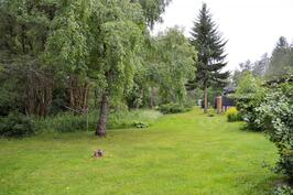 Puutarhamaista takapihaa