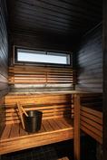 Tunnelmallinen sauna/ Den mysiga bastun