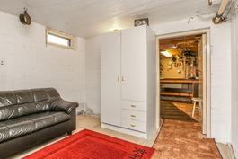 Saunaosaston pukuhuone