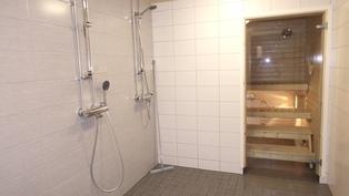 taloyhtiön sauna/pesuhuone
