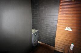 Kellarikerroksessa oleva sauna