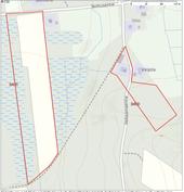 Kartta tilan alueista (punaisella rajattu)
