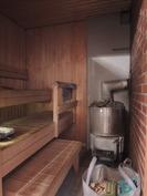 sauna, puulämmitteinen kiuas