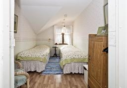 Kahden hengen huone erisillä sängyillä