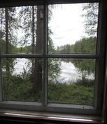 Ikkunanäkymä makuuaitasta