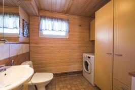 WC ja kodinhoitotila