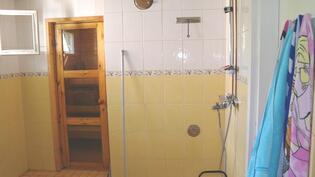 Kph ja sauna remontoitu kokonaan 2007