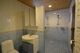 Pesuhuoeneessa myös wc-tilaa