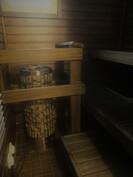 Tunnelmallinen sauna on ikkunallinen.