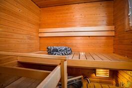 Omassa saunassa nauttii parhaimmista löylyistä.