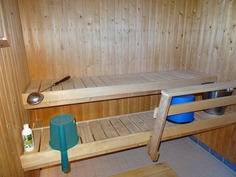 Sauna erillisessä rakennuksessa