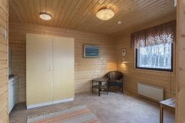 saunarakennuksen huone
