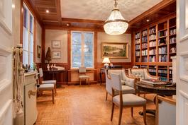Jos pidät sikarista ja konjakista herrojen seurassa, kirjasto on se oikea paikka.