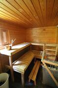 Saunamökin sauna