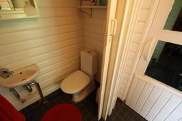 Saunamökin wc