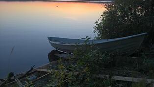 Oma venepaikka Puulan rannalla