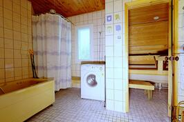 Pesuhuone, jossa amme