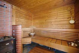 Rantamökin sauna