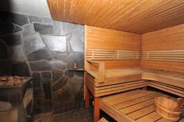 Sauna kellarikerroksessa