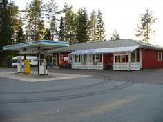 Kyläkauppa/huoltoasema valtatie 3 varrella