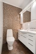 Yläkerran erillinen wc/ Övre våningens separat wc
