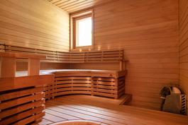 Näyttävä sauna/ Fin bastu
