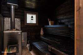 ja tunnelmallisessa Saunassa on ihana rentoutua!