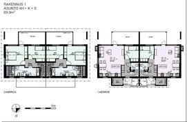 Asunnot A1,A2 4h,k,s 89 m2