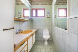 Valoisa wc-tila