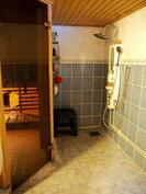 Kellari pesuhuone ja sauna