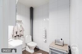 Alakerran erillinen wc 3,6m²
