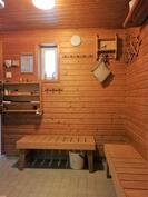 Navetan saunan pukuhuone