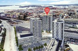 Kuopion Portti rakennetaan kolmessa vaiheessa.Viitteellinen kuva kohteesta.