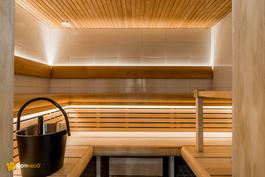 Yhtiön upea sauna