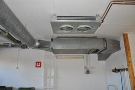 Ilmastoinnin koneisto