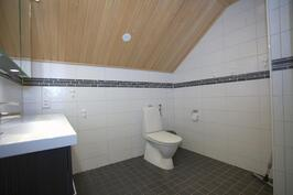 Yläkerran WC/kylpyhuone