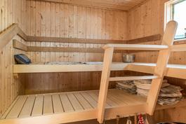 Sauna uusittu 2005