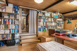 Iso makuuhuone / työ/ateljée tila