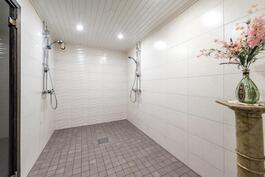 Kylpyhuone remontoitu 2017
