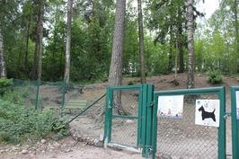 Viereinen koirapuisto