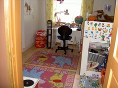 yksi lastenhuone