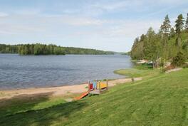 Pitkäjärven rantamaisemaa