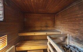 Yhtiössä hyvä sauna