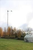 oma tuulivoimala / pienvoimala sähkön tuottamiseen