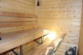 sauna, uudet kippilauteet